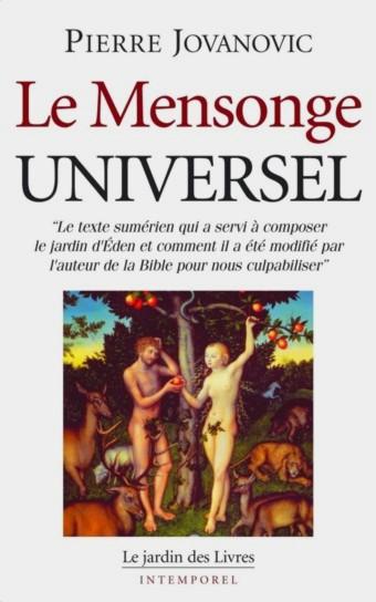 """Le Mensonge Universel"" Pierre Jovanovic Mu"