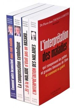 4 livres du Dr Thomas Lamotte