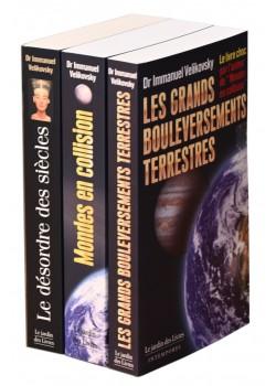 3 livres d'Immanuel Velikovsky